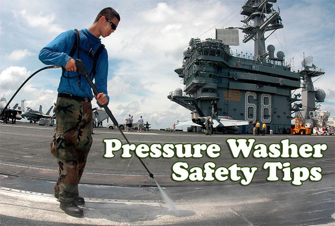 Pressure Washer Safety Tips How To Use Without Getting