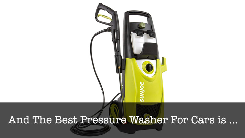 Best Pressure Washer For Cars Top 5 Recommended